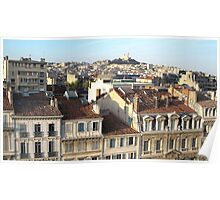 Lovely view of Marseille Poster
