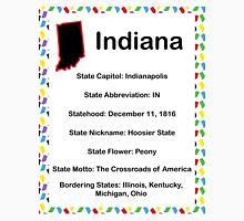 Indiana Informational Educational Unisex T-Shirt
