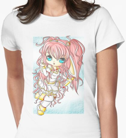 Magical Usagi-tan Womens Fitted T-Shirt