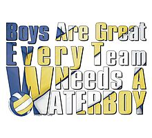 Waterboy Volleyball Photographic Print