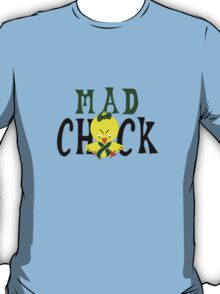 Mad chick in the fight liver cancer geek funny nerd T-Shirt