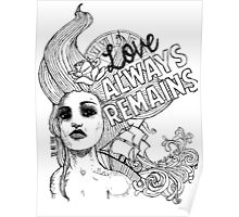 Love Always Remains Poster