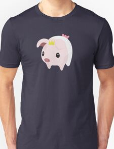 Monster Hunter Poogie Piggie Diaper Nappie print T-Shirt