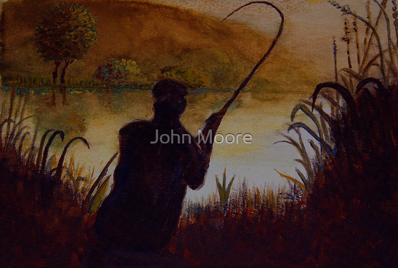First Rush by John Moore
