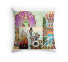 Festival of Fantasy Throw Pillow