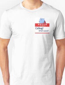 Catbug Name tag Unisex T-Shirt