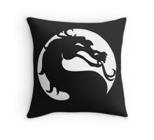 The Mortal Kombat  Throw Pillow