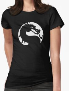 The Mortal Kombat  Womens Fitted T-Shirt