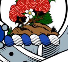 00049 Fraser/Frazier 1800 Clan Tartan  Sticker