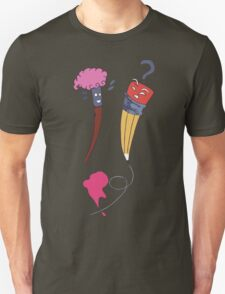 The Brush and the Pencil T-Shirt