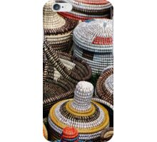 Yellow, red, green baskets iPhone Case/Skin