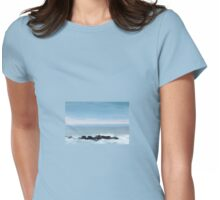 Tranquil Sunset Womens Fitted T-Shirt