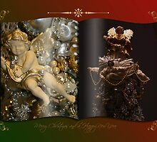 Decorated Christmas Greeting Card by patjila
