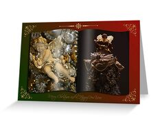Decorated Christmas Greeting Card Greeting Card