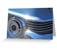 1954 Cadillac Series 62 Coupe DeVille - Chrome Vol 1 Greeting Card