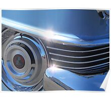 1954 Cadillac Series 62 Coupe DeVille - Chrome Vol 1 Poster