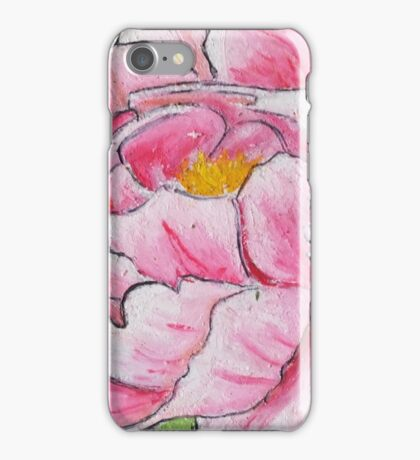 Peony Bloom Detail iPhone Case/Skin