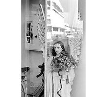 The shopfront  Angel Photographic Print
