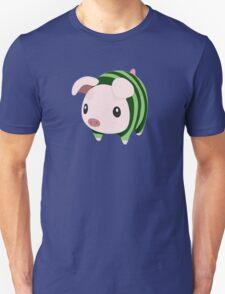 Poogie Piggie Monster Hunter Print Watermelon T-Shirt