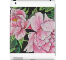 Peony Blooms iPad Case/Skin