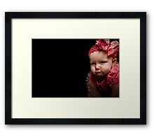 I'm Ready for my Close-Up... Framed Print