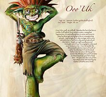 Ooo'Uk the Goblin-Troll by dhlinder