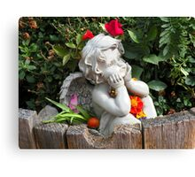Garden Guardian Canvas Print