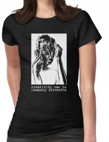creative stress Womens Fitted T-Shirt