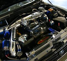 Supercharged Lexus IS300 Engine by sl02ggp