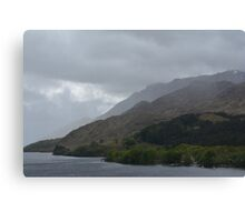A View of Loch Shiel Canvas Print