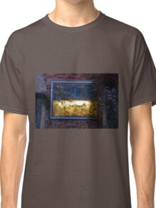 A Light Behind The Overgrown Walls Classic T-Shirt