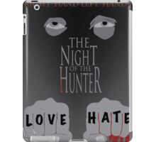 The Night of the Hunter Movie Poster  iPad Case/Skin