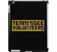 BLACK VOLS WITH FLAG WATERMARKED iPad Case/Skin