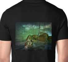 Catch the winds of destiny wherever they drive the boat Unisex T-Shirt