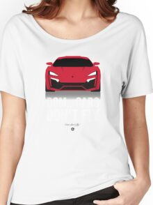 Cinema Obscura Series - The Fast & the Furious - Cars Don't Fly Women's Relaxed Fit T-Shirt