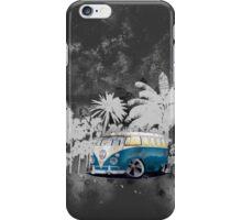 Splitty Grunge (W) iPhone Case/Skin