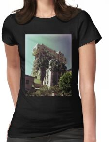 Hollywood Tower Hotel Womens Fitted T-Shirt