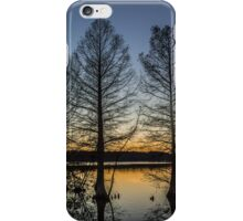 Cypress Silhouette iPhone Case/Skin