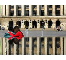 Reflection of Love Photographic Print