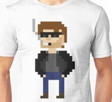 Pixel Hank Moody Unisex T-Shirt