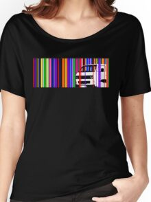 T25 Stripes Women's Relaxed Fit T-Shirt