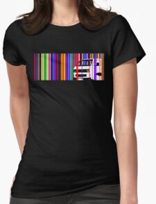 T25 Stripes Womens Fitted T-Shirt