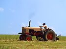 NOTHING LIKE A SUNNY DAY ON MY TRACTOR!   by BCallahan