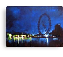 Painting: london Eye  Canvas Print