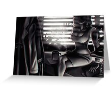 Noir Greeting Card