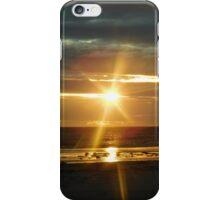Sunset at Glenelg Beach, South Australia iPhone Case/Skin