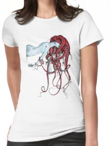 Septoid Womens Fitted T-Shirt