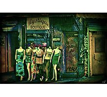Mystique Boutique Photographic Print