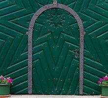 A Green Door by Walter Quirtmair