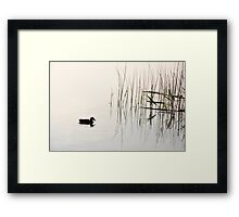Peace and Simplicity Framed Print